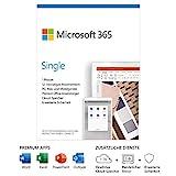 Microsoft 365 Single | 1 Nutzer | Mehrere PCs/Macs, Tablets und mobile Geräte | 1 Jahresabonnement | Box