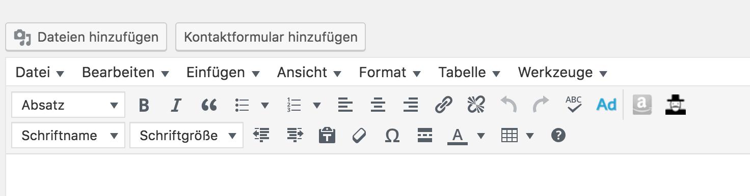Wie löse ich Probleme mit TinyMCE Advanced bei Google Chrome?